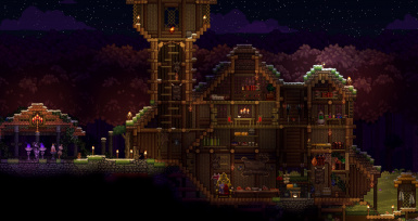 swamp mansion