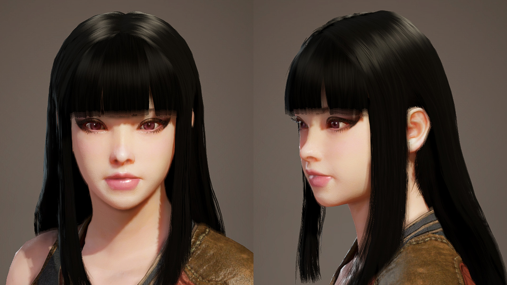Blunt Bangs ''Pattsun'' Hairstyle WIP at Monster Hunter: World ...