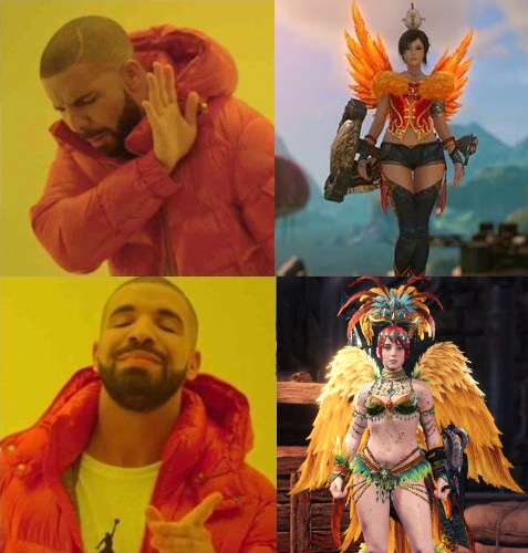 Full wings are preferred