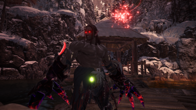 Red eyes Magala Claws