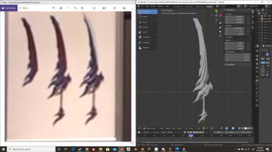MHW Iceborne Glavenus Longsword HD Restoration Part 1 - Getting It Ready For Zbrush