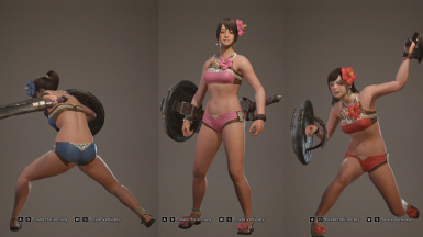 Player Swimsuit Mod WIP