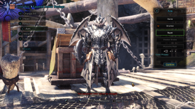 SilverSol Rathalos Male Armor - Commissioned Armor