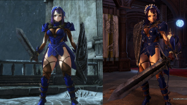 Sumire - Sync with DS3 weapons