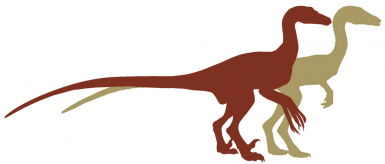 Pyroraptor Olympius Silhouette TEASER UNFEATHERED for now