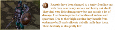 Hallit Recruit Description