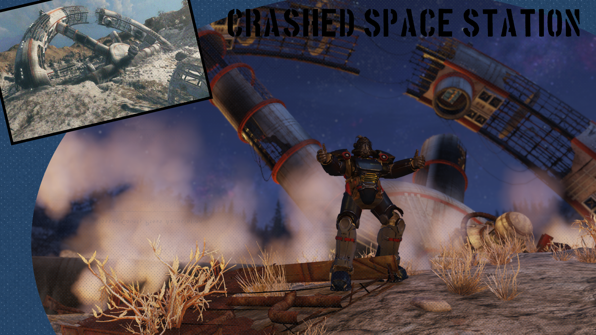 CRASHED SPACE STATION at Fallout 76 Nexus - Mods and community
