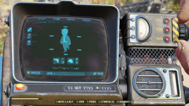 How to change your Pipboy Hud and Light Color