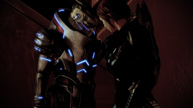Jane and Garrus