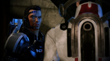My main male Shepard 3
