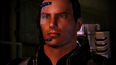 My main male Shepard 4