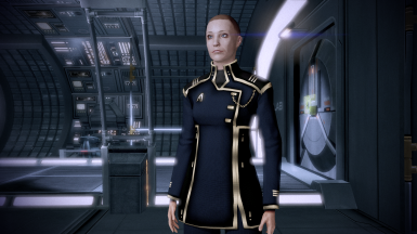 ME2 Aliance Dress uniform for my FemShep