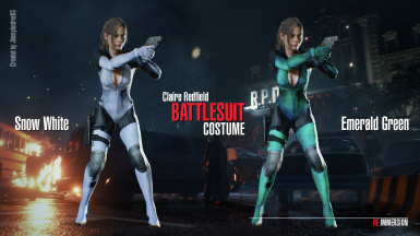 Claire Battlesuit Update 13 Available