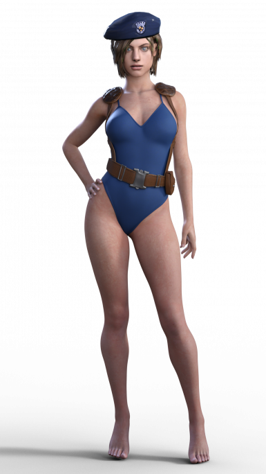 Jill Valentine Upcoming outfit