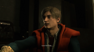 Marty McFly Costume Mod on Leon Kennedy
