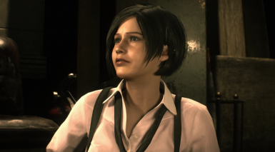 Claire Redfield with Ada Wong Hair