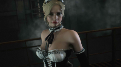 Gothic Princess Claire Redfield - Maid Mod