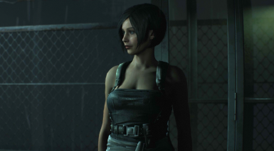 Claire Cosplaying Jill Valentine