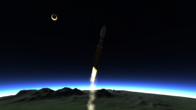 Total Eclipse Launch
