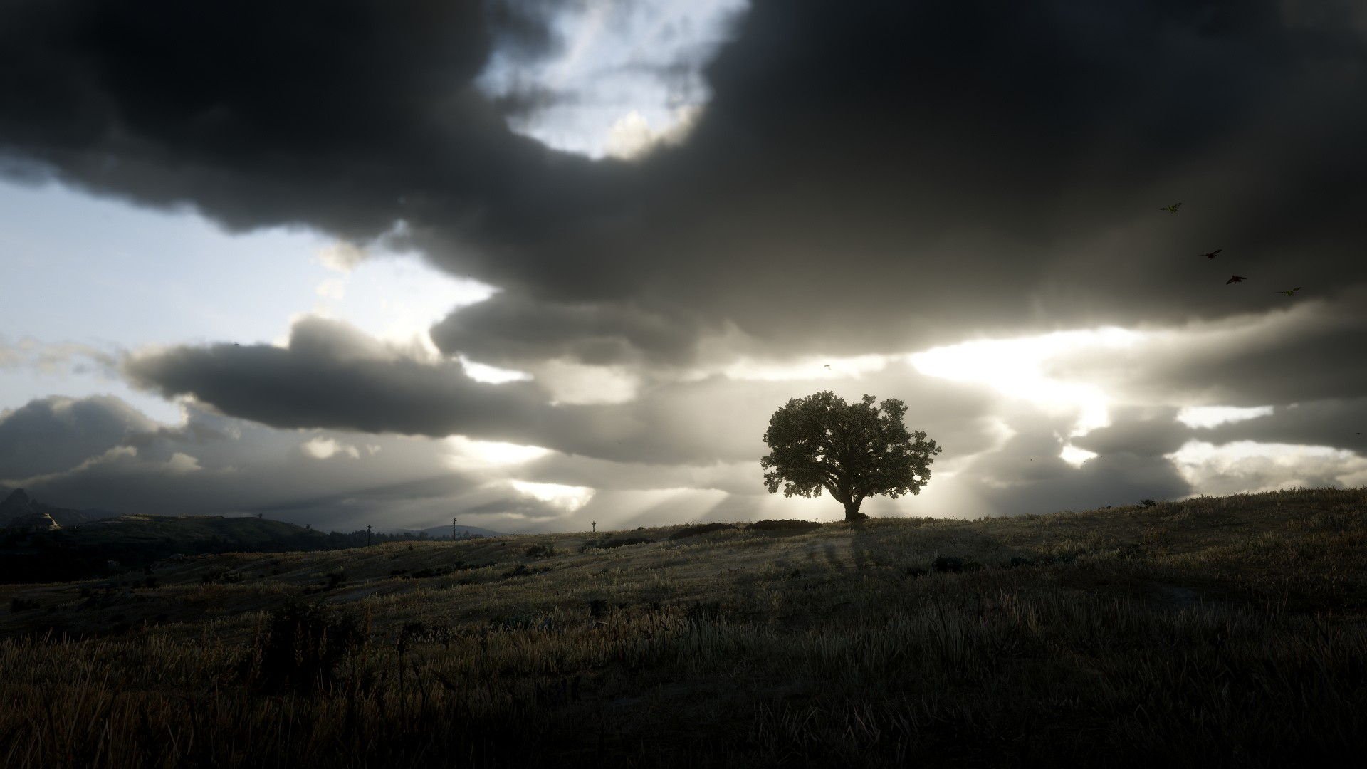 Weather's changing at the Marston Ranch