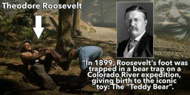 Theodore Roosevelt in RDR2