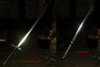 New Swords with Unused Assets - Empire and Aserai
