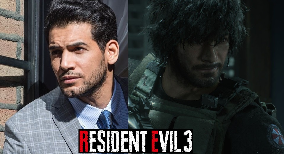 Carlos Face Model Mokhtar Benchohra At Resident Evil 3 2020