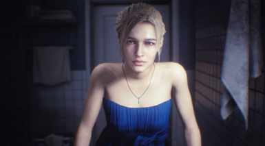 Jill Valentine in a Fancy New Dress
