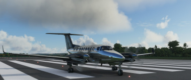 king air 350i new livery finished