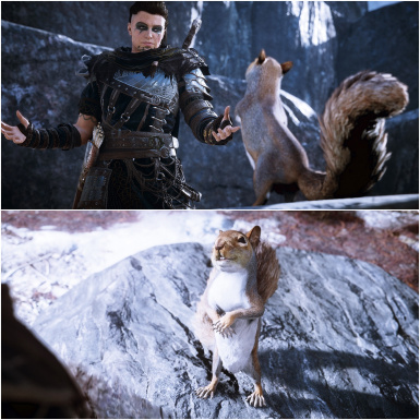 Flyting With Squirrel