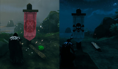 New banners