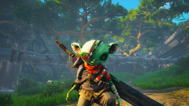 My first Biomutant character