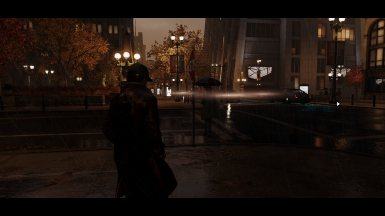 Just another really dark screenshot in the rain