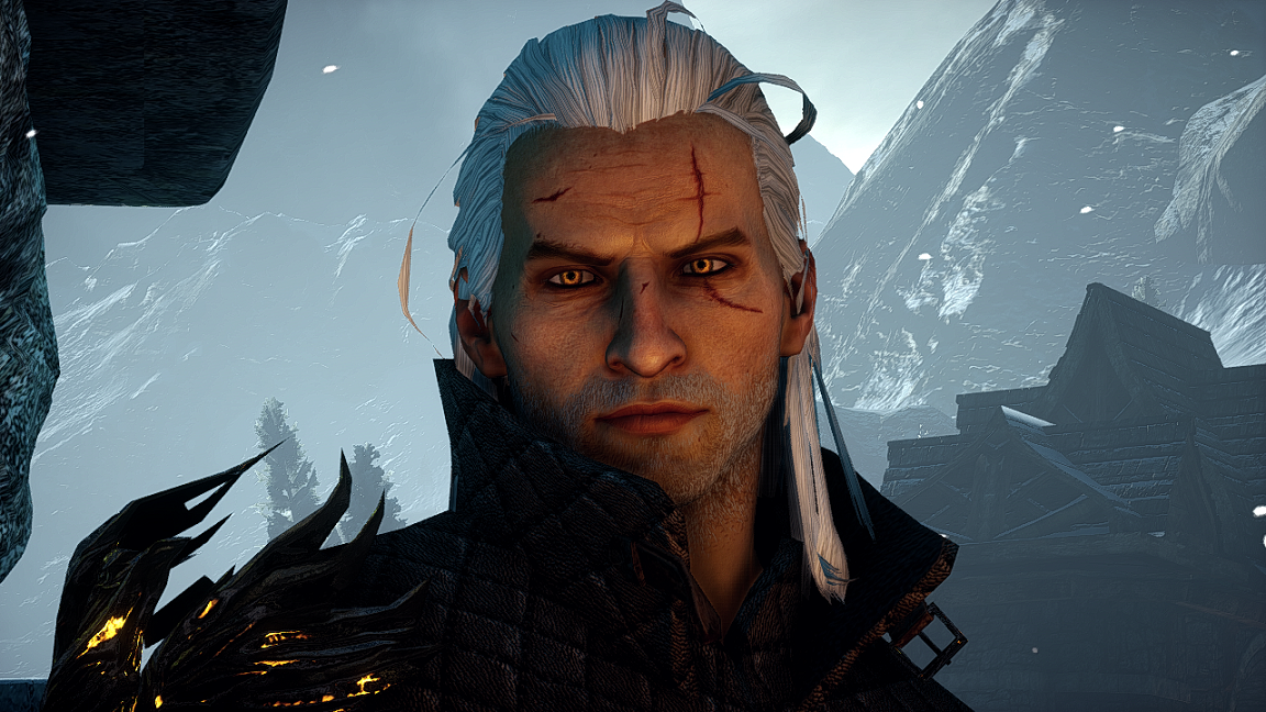 Geralt Of Rivia Hairstyle Wip At Dragon Age Inquisition