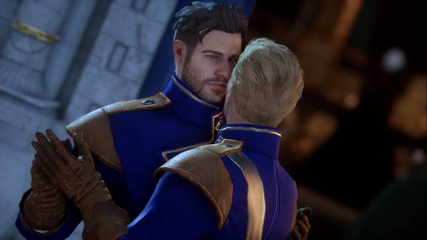 Cullen And Trevelyan At Dragon Age Inquisition Nexus Mods And