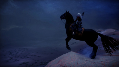 Riding the Wastes on a Night Black Horse