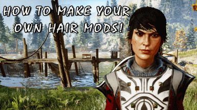 Hair Mod Tutorial - Cassandra Hair WIP