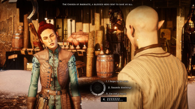 Talking to Solas