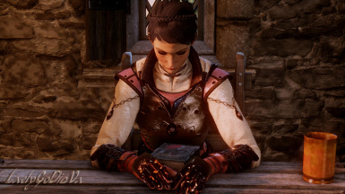 Gazing Down Lovingly at Varric's New Book
