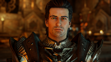An older Inquisitor Trevelyan