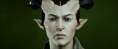 New skin tints for Qunari