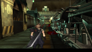 Final Fantasy VII - HD Weapons