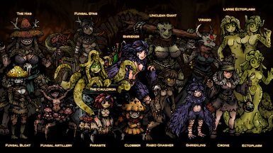 Upcoming weald replacer aka Myconidae 2 point 0  roster