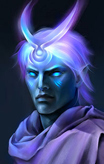 Moon Godlike Portrait - large