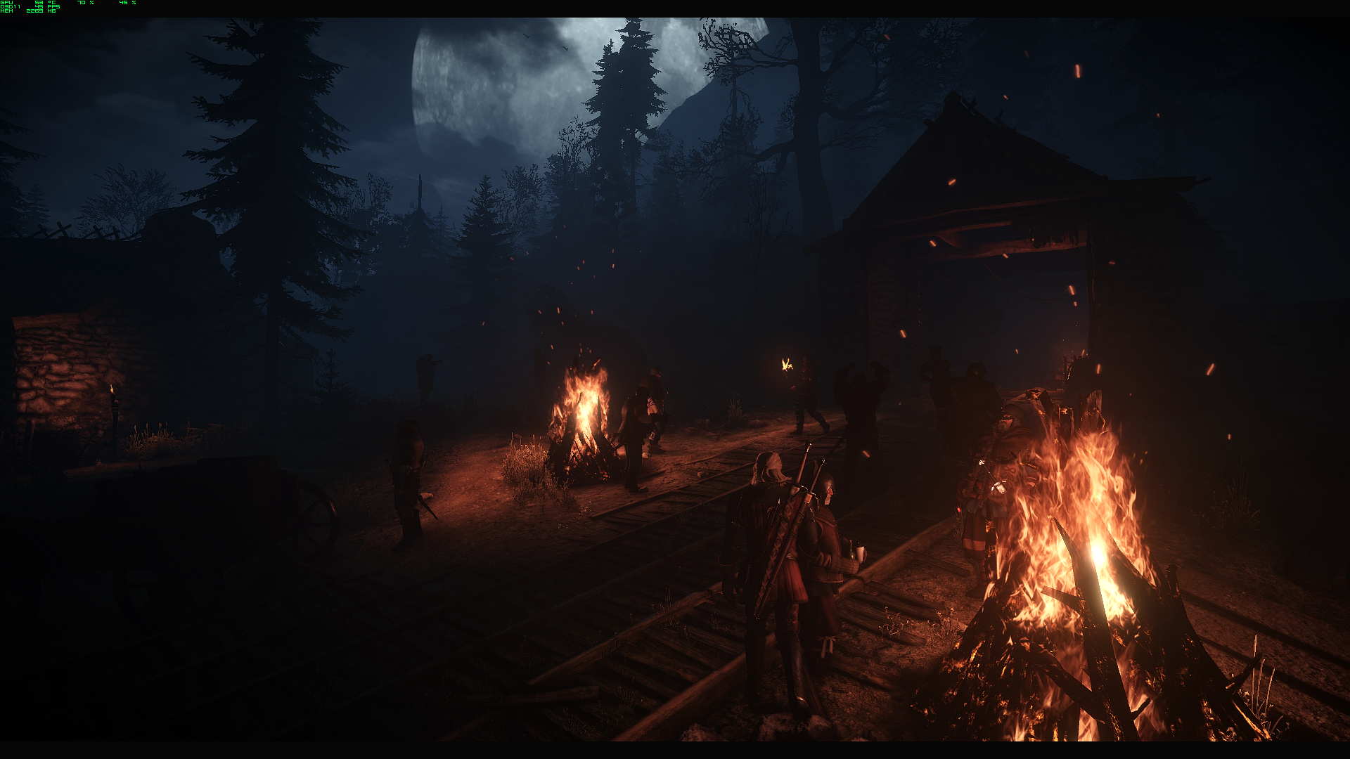 By the fires at The Witcher 3 Nexus - Mods and community