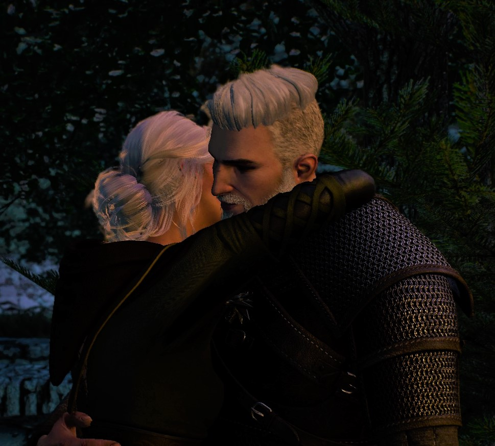 Hipster Geralt and Ciri at The Witcher 3 Nexus - Mods and