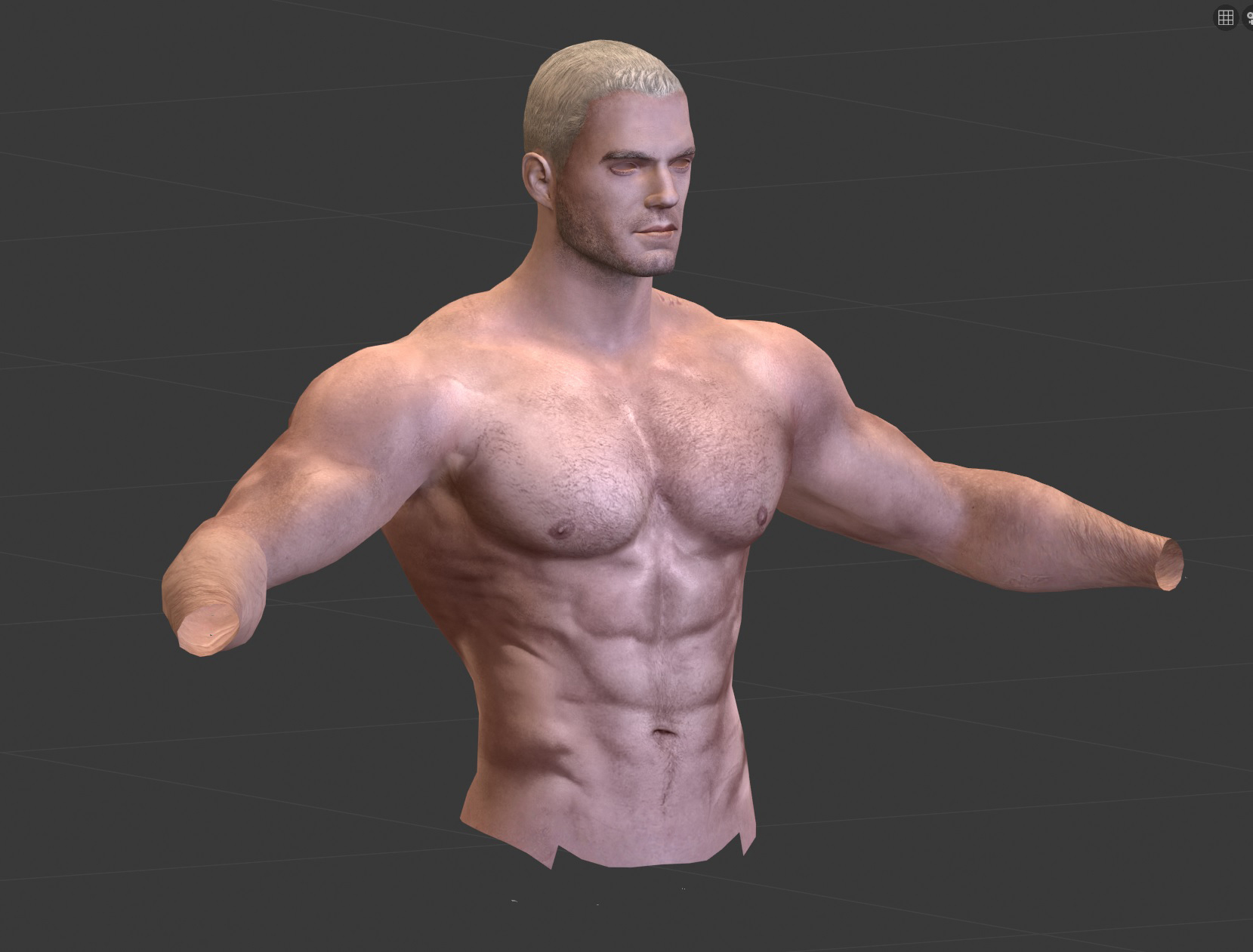Started Making Body For Henry Cavill At The Witcher 3 Nexus