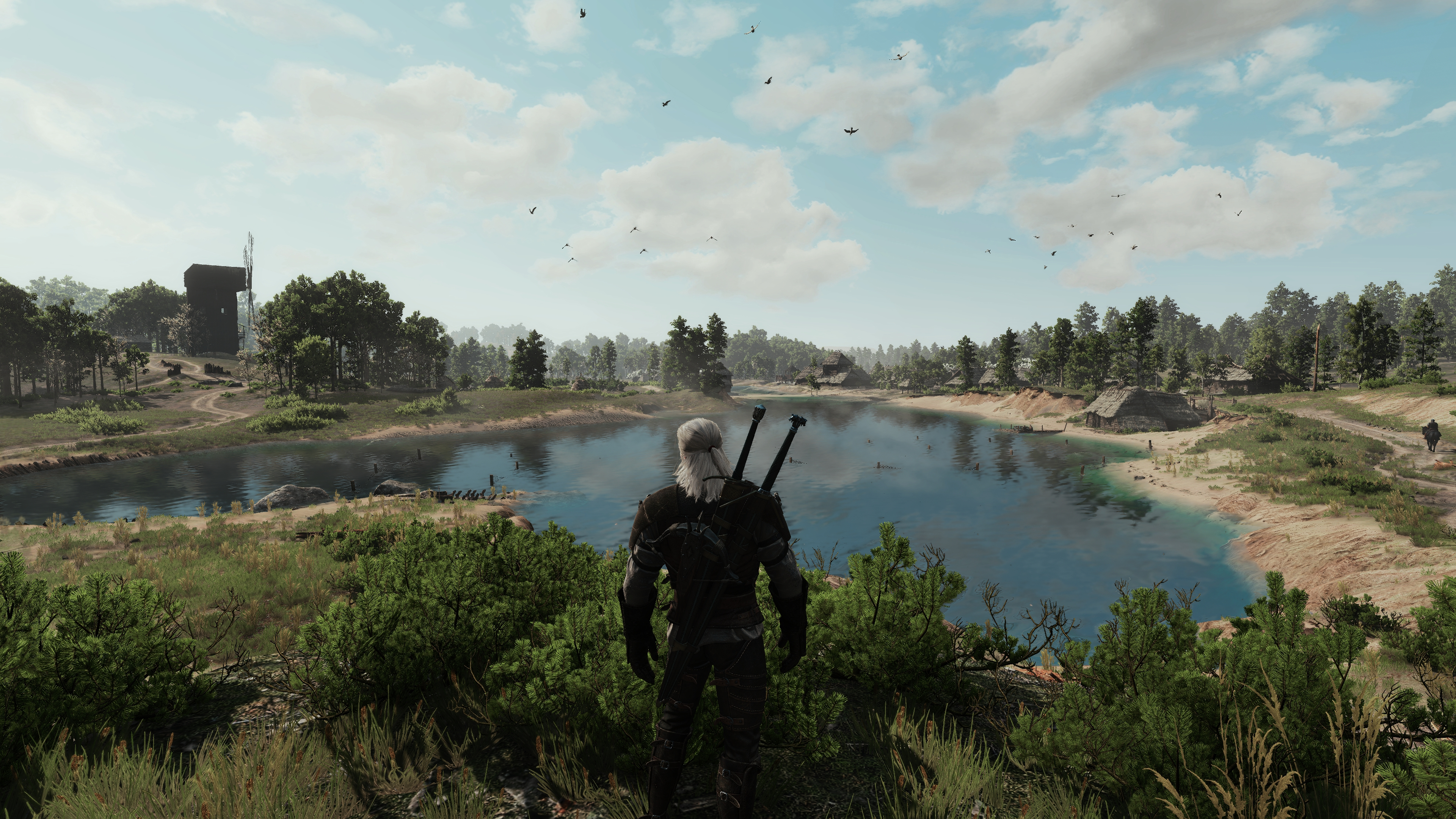 white orchard at The Witcher 3 Nexus - Mods and community