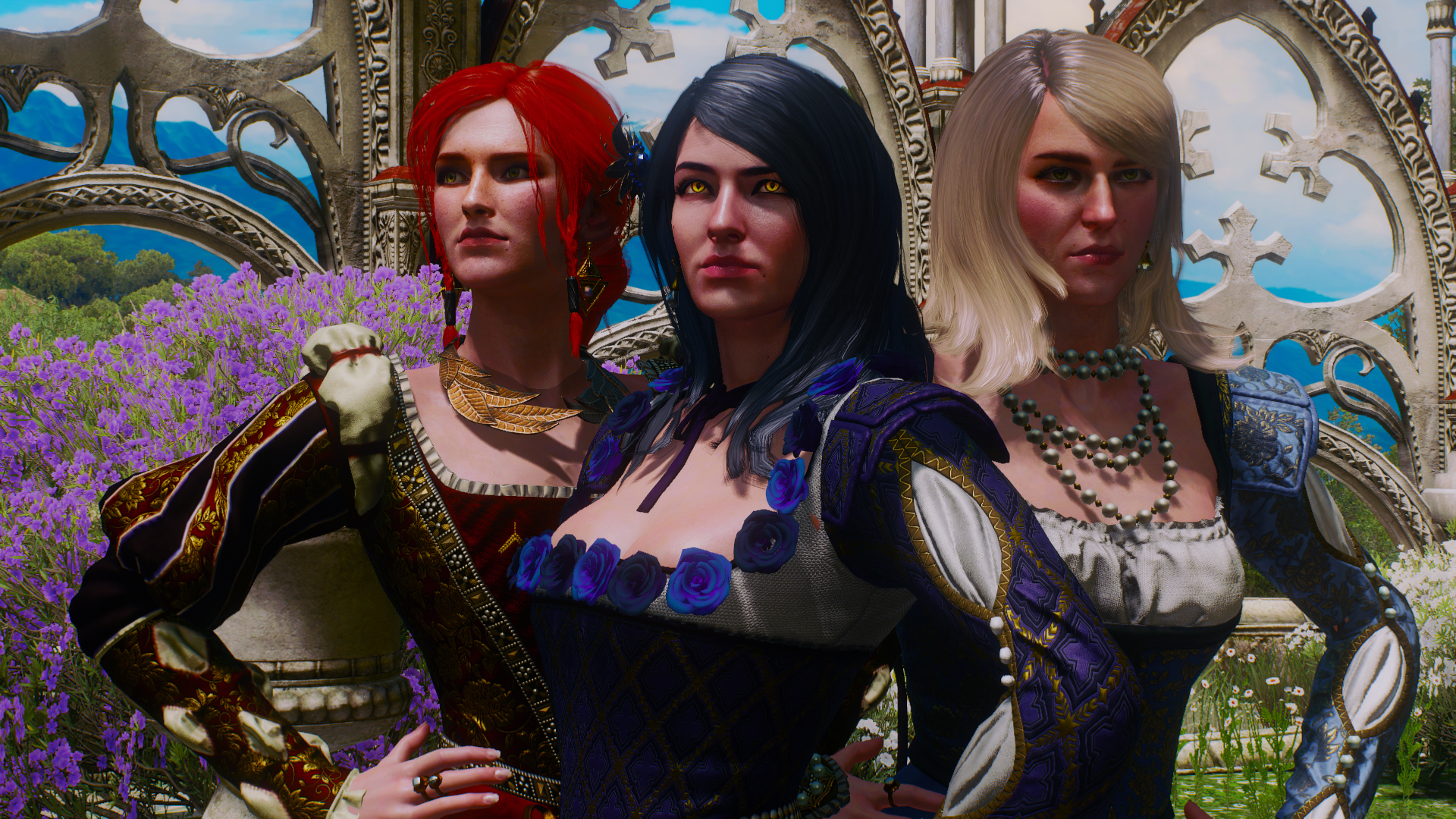 Ladies at The Witcher 3 Nexus - Mods and community