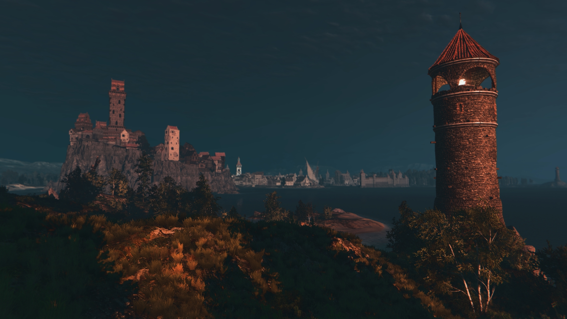 Witcher 3 Lighthouse